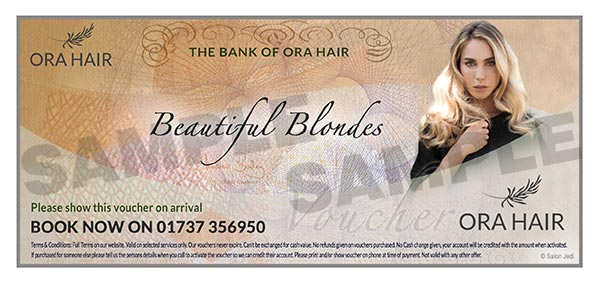 Blonde Hair salon package