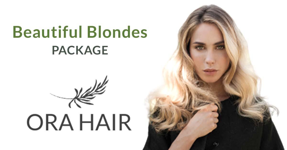 Blonde Hair Cutting Banstead